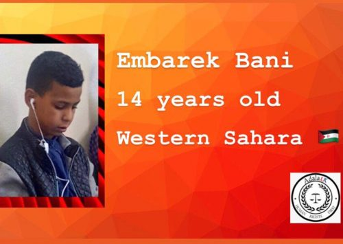 Morocco tortures and abuses Saharawi minors with impunity