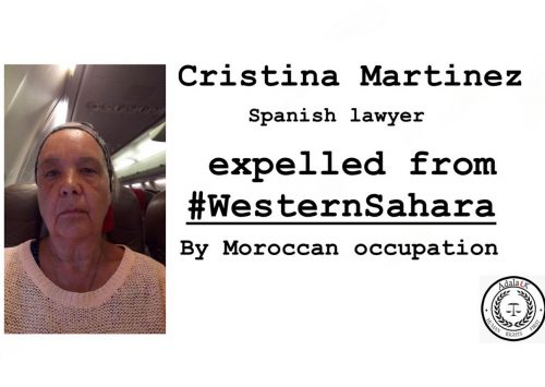 International observer expelled from Western Sahara