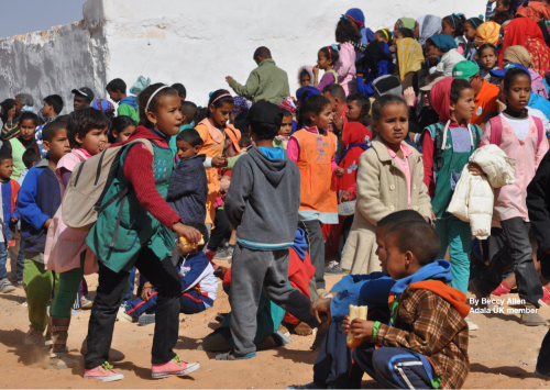 Childhood in the occupied territories of Western Sahara