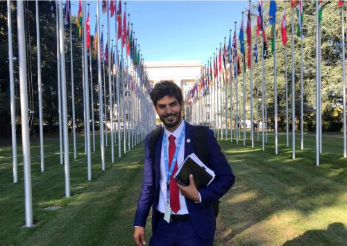 Geneva: Adala UK meets with representatives of United Nations organizations.